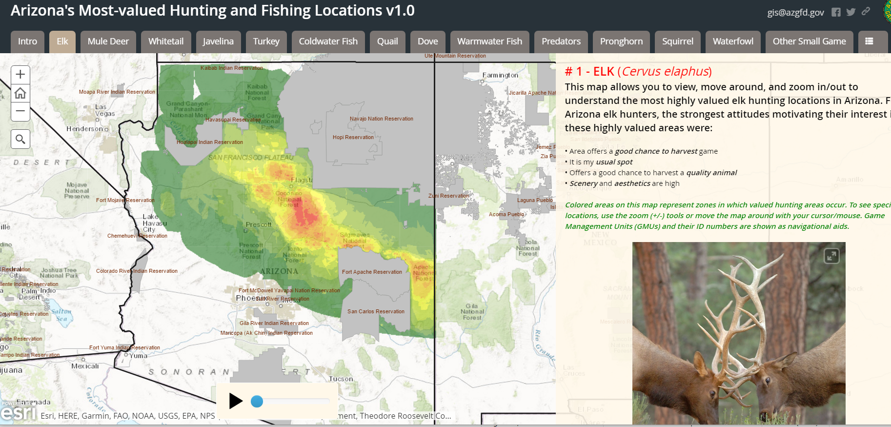 Interactive Map Of Arizona.State Interactive Maps Apt Outdoorsapt Outdoors Be An Apt In The