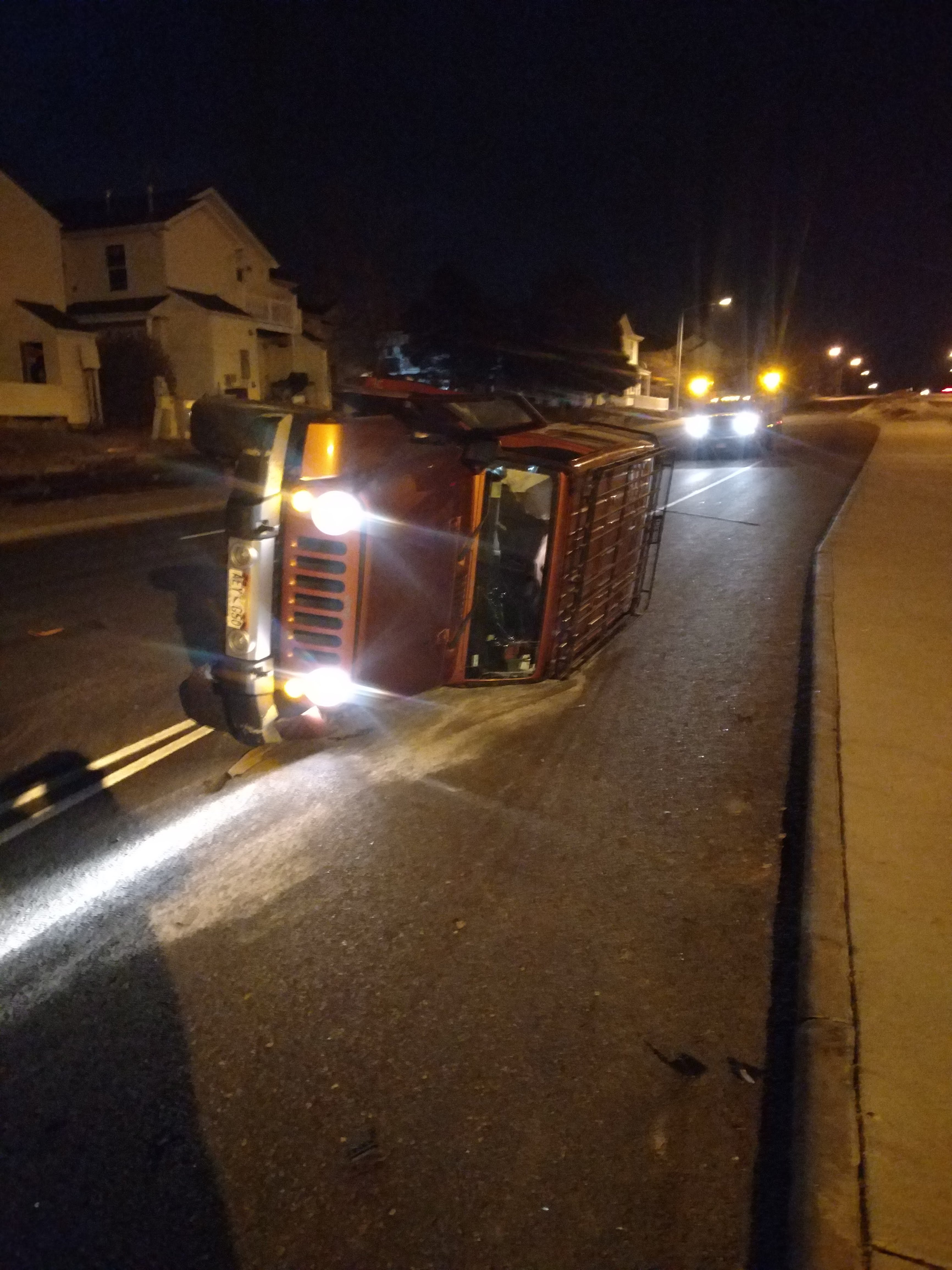 After an incident with a semi over a turn signal being used as an announcement versus a request.