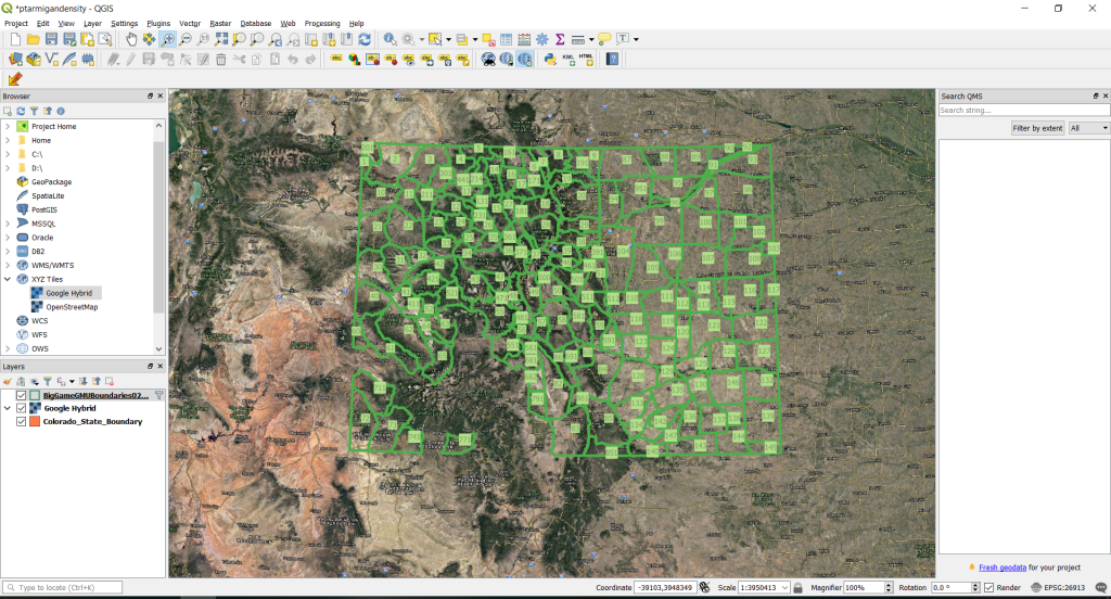 Hunting Maps for Lunatics is a DIY hunting map that you control how you use the data.