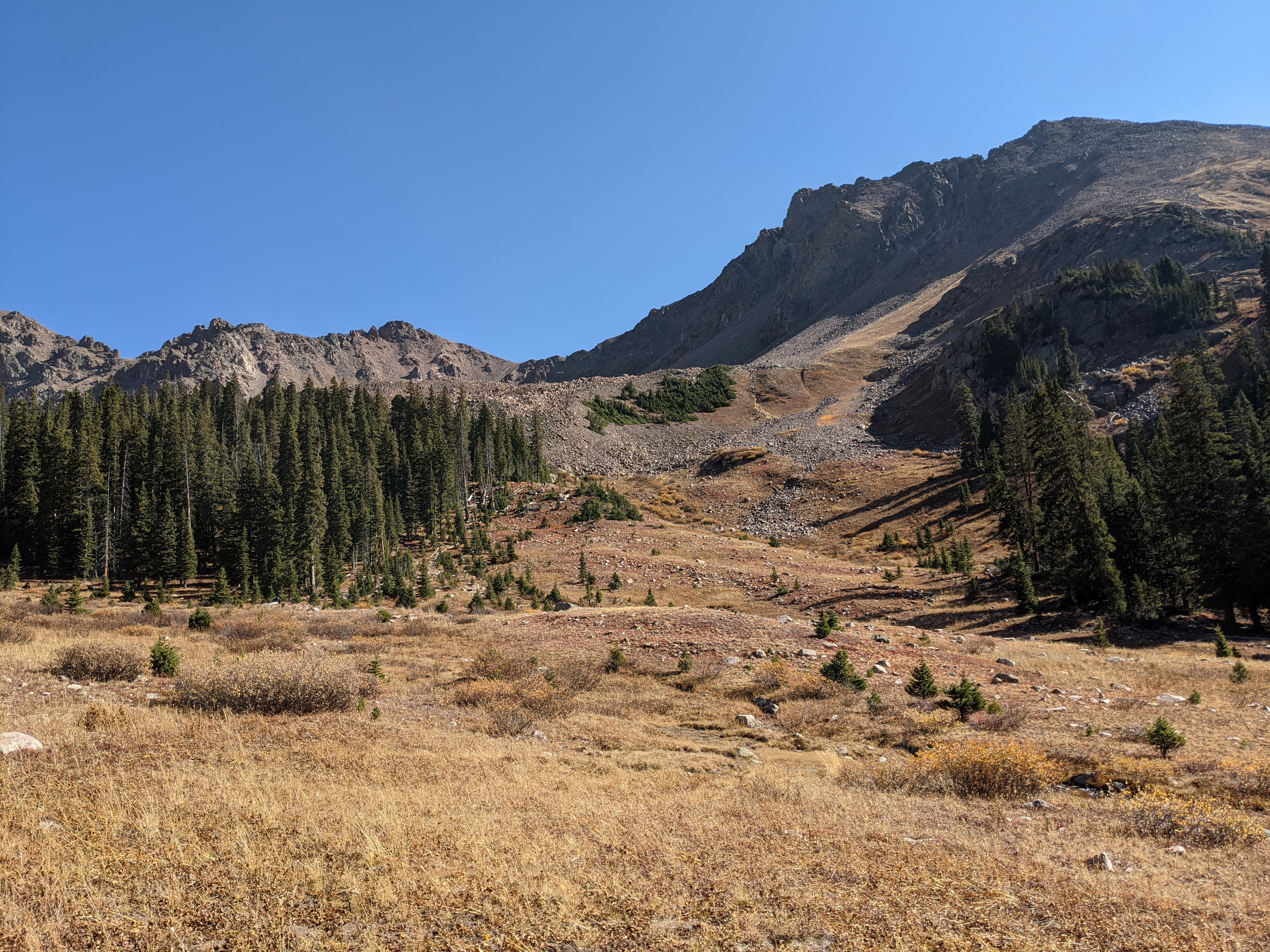 The terrain in the Eagles Nest Wilderness is as aggressive as it is beautiful.