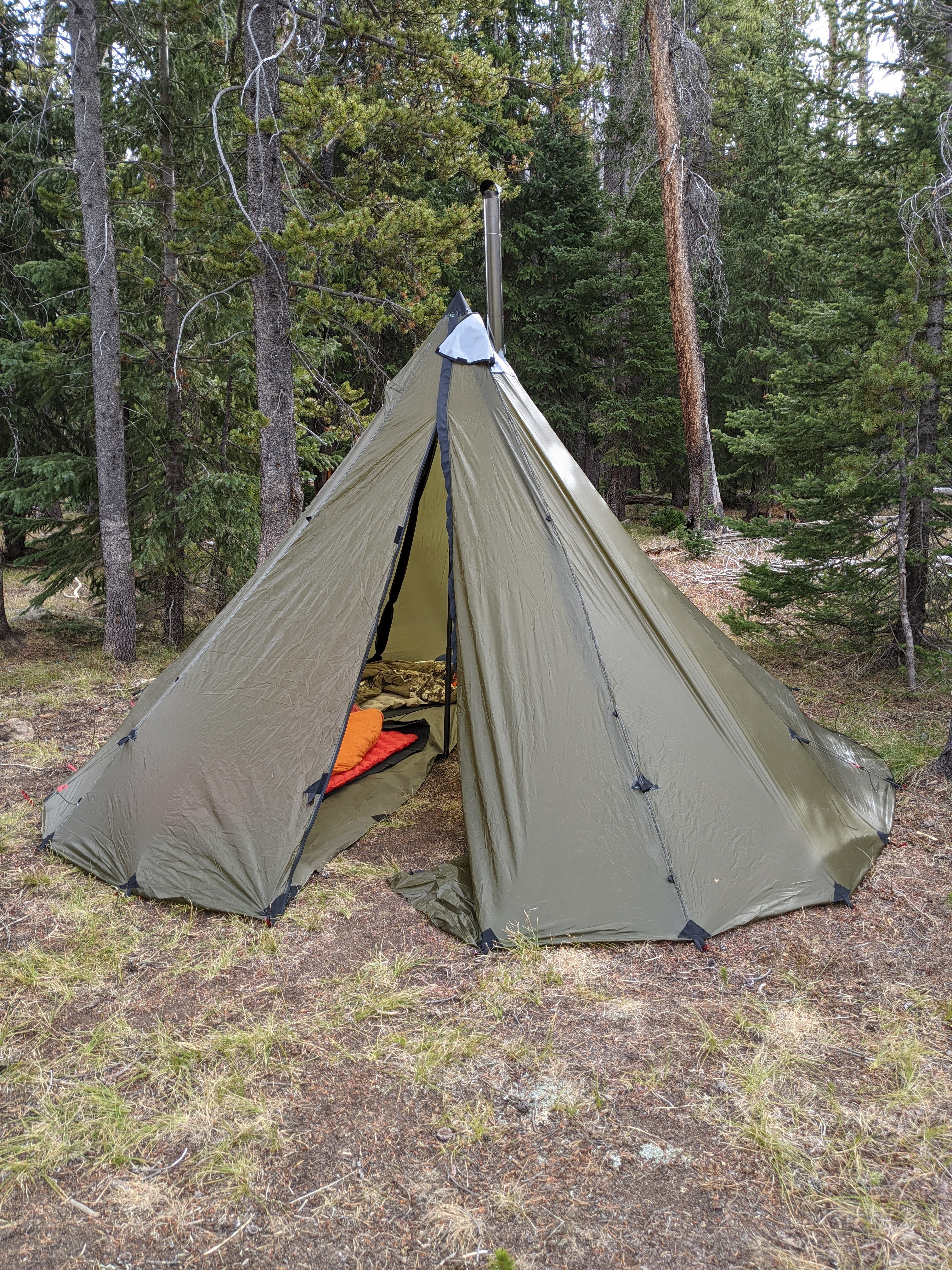 The SeekOutside Tipi is the packable backcountry hot tent that will keep you from the elements.