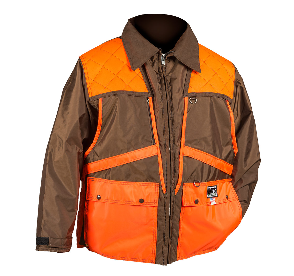The Dan's Briarproof Briar Coat is built like a tank to take the punishment of the grouse coverts.